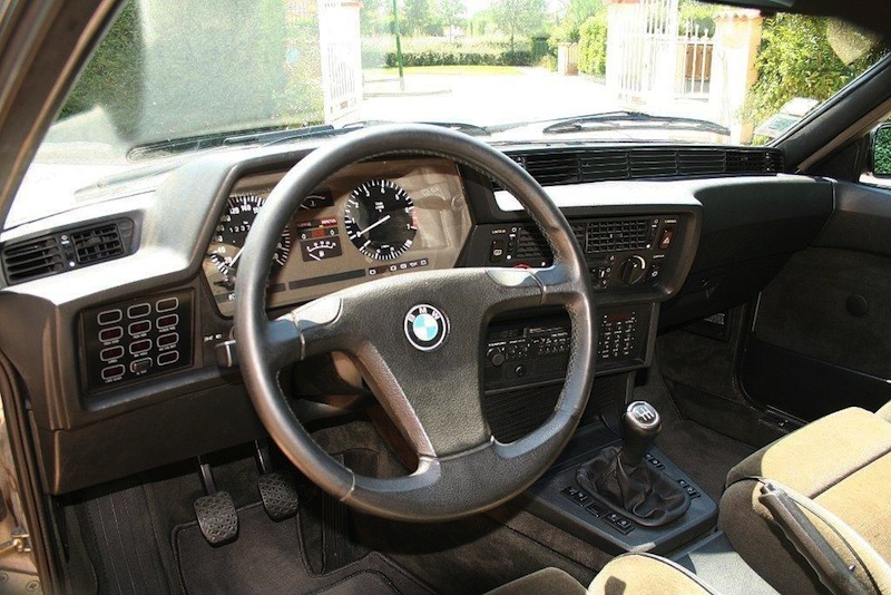 Bmw 635 csi e24 fred son r ve de m me de l 39 essence for Interieur 635 csi