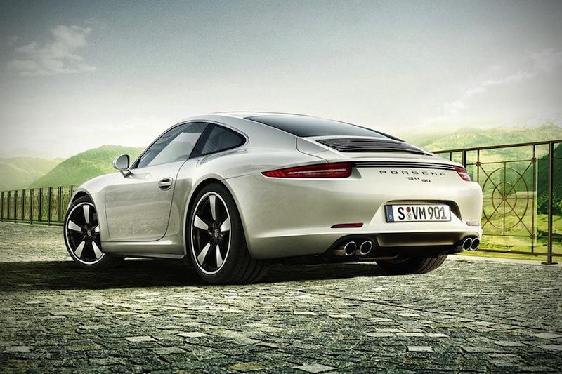Porsche-911-50-Anniversary-Edition-Rear-Static