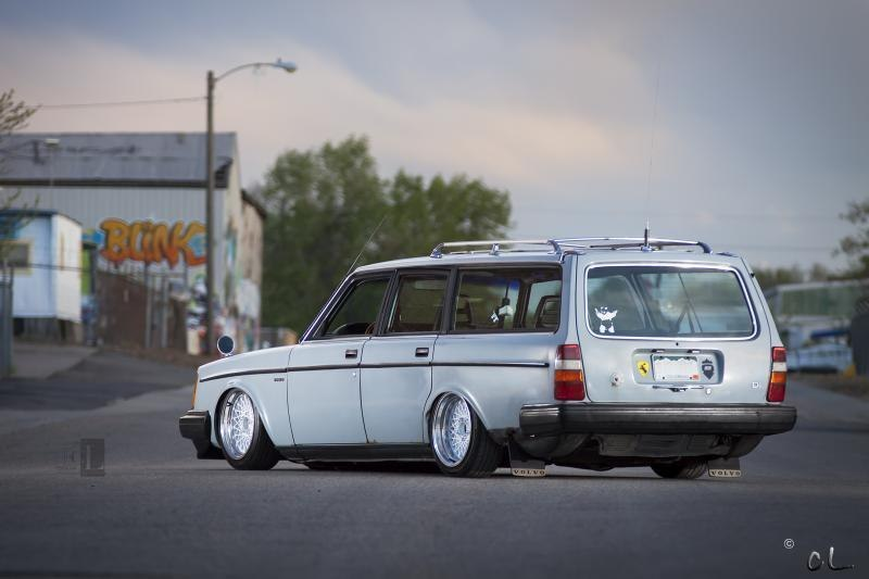 Low Volvo 240 Quot Turbobrick Quot En Airlift De L Essence Dans
