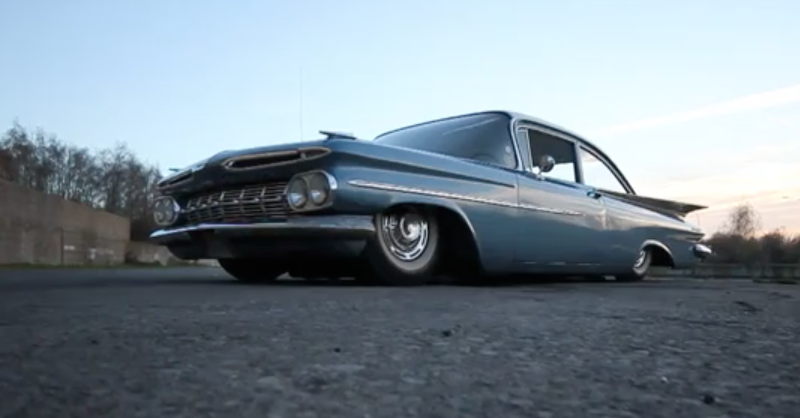 Chevy Biscayne Airlift