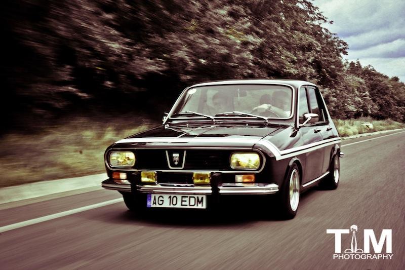 Dacia 1300 aka R12 Gordini Black Beauty phareallum