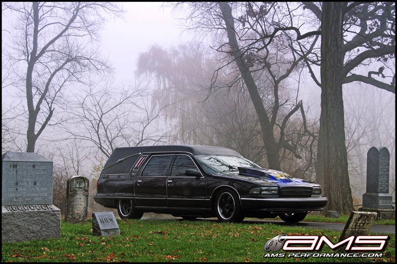 World's Fastest Hearse by AMS Performance