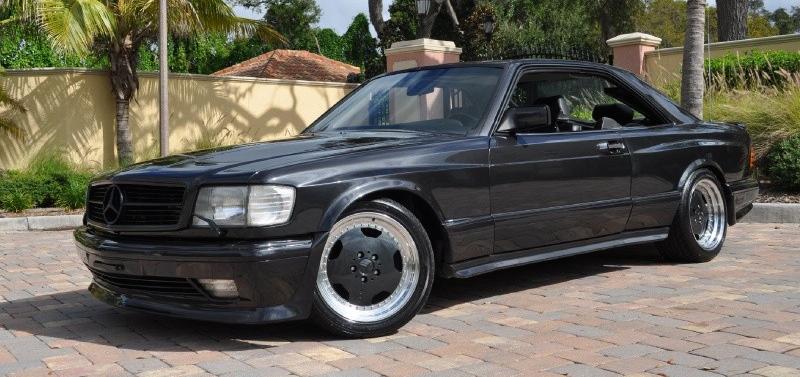 Mercedes 560 Sec Amg Une Histoire De Style De L