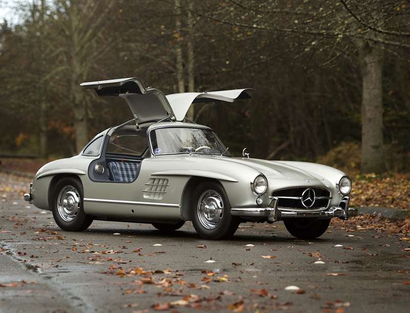 DLEDMV Mercedes 300SL Gullwing Lightweight01