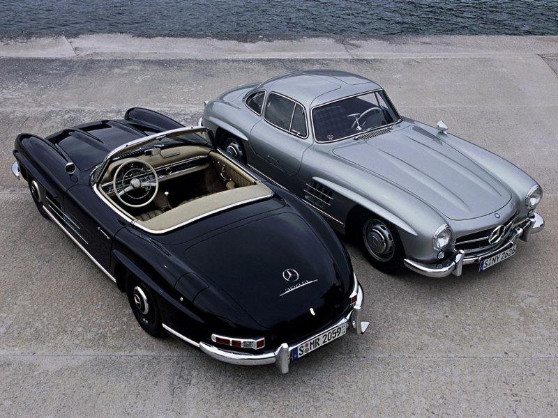 DLEDMV Mercedes 300SL Gullwing Lightweight08