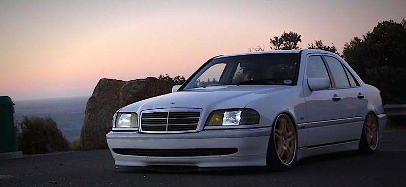 DLEDMV Mercedes C240 W202 Airbagged 02