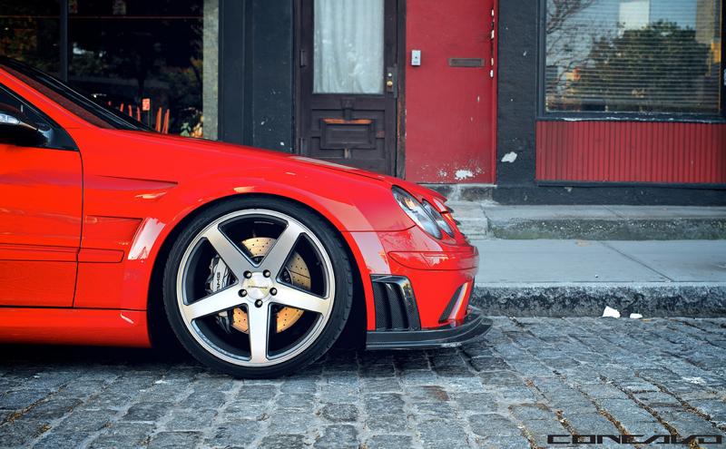 DLEDMV Mercedes CLK 63AMG Black Series Concavo 01
