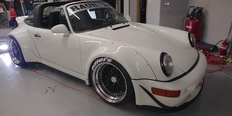 DLEDMV Porsche 964 Targa Rauh Welt Begriff Californie05