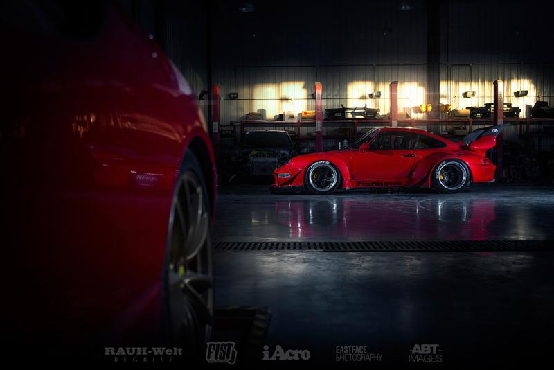 DLEDMV Porsche 993 RWB China Fishbone04