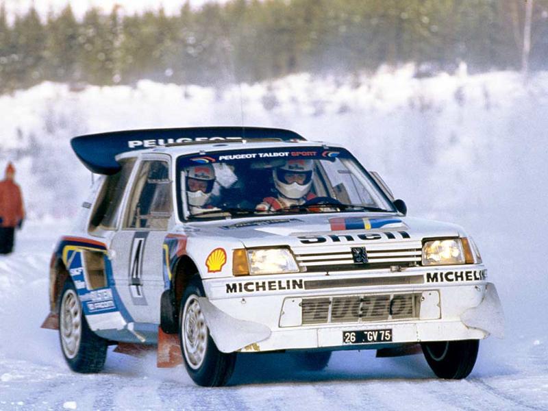 DLEDMV Peugeot 205 T16 Evo2 en action 0003