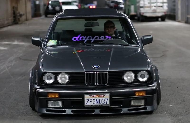 DLEDMV BMW E30 V8 LS1 BBS & airride 03