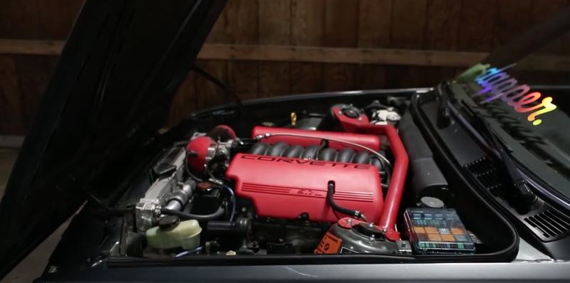 DLEDMV BMW E30 V8 LS1 BBS & airride 04