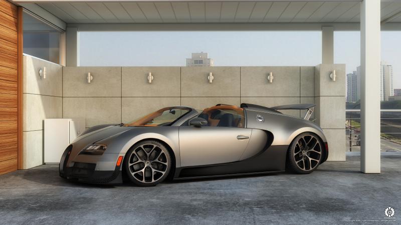 DLEDMV Bugatti Veyron QuickSilver Exhaust 03