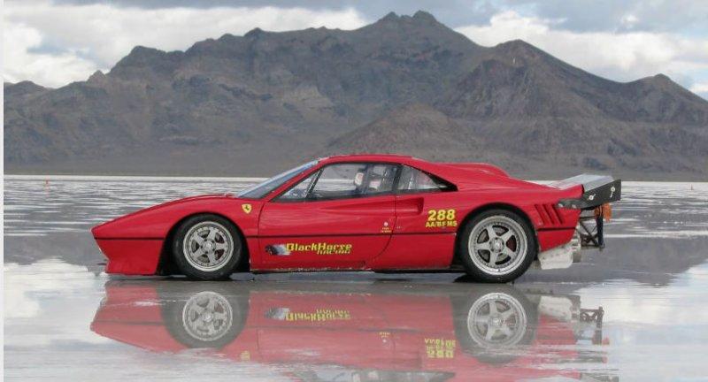 DLEDMV Ferrari 288 GTO Bonneville Speedway 004
