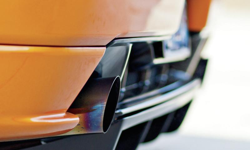 DLEDMV Honda NSX Exhaust Power test 06