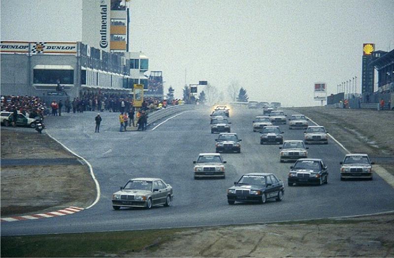 DLEDMV Mercedes 190 2,3 16 race 84 003