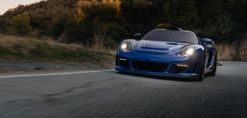 DLEDMV Porsche Carrera GT Gemballa Mirage HRE 01