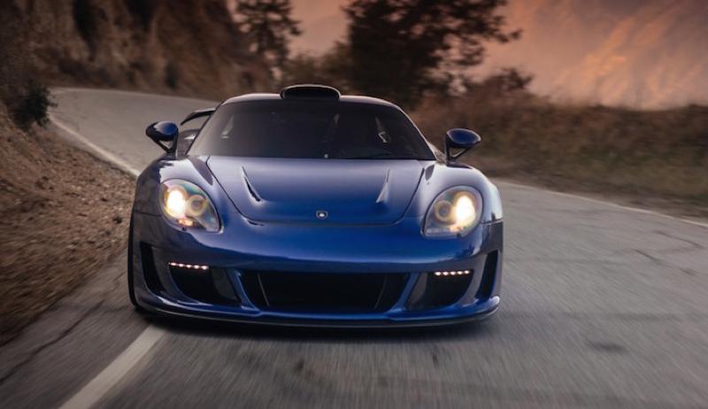 DLEDMV Porsche Carrera GT Gemballa Mirage HRE 09