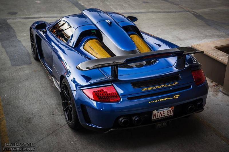 DLEDMV Porsche Carrera GT Gemballa Mirage HRE 10