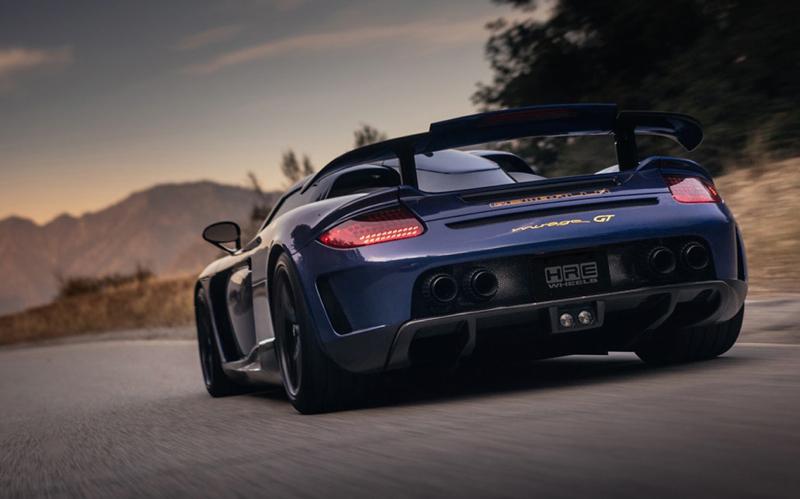 DLEDMV Porsche Carrera GT Gemballa Mirage HRE 14