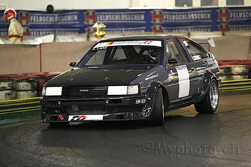 DLEDMV Toyota AE86 time attack slalom 01