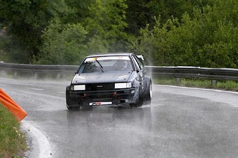 DLEDMV Toyota AE86 time attack slalom 05