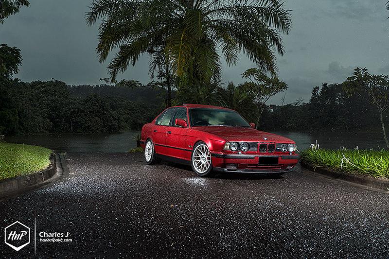 DLEDMV BMW M5 E34 BBS RC HnP04