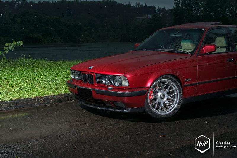 DLEDMV BMW M5 E34 BBS RC HnP05