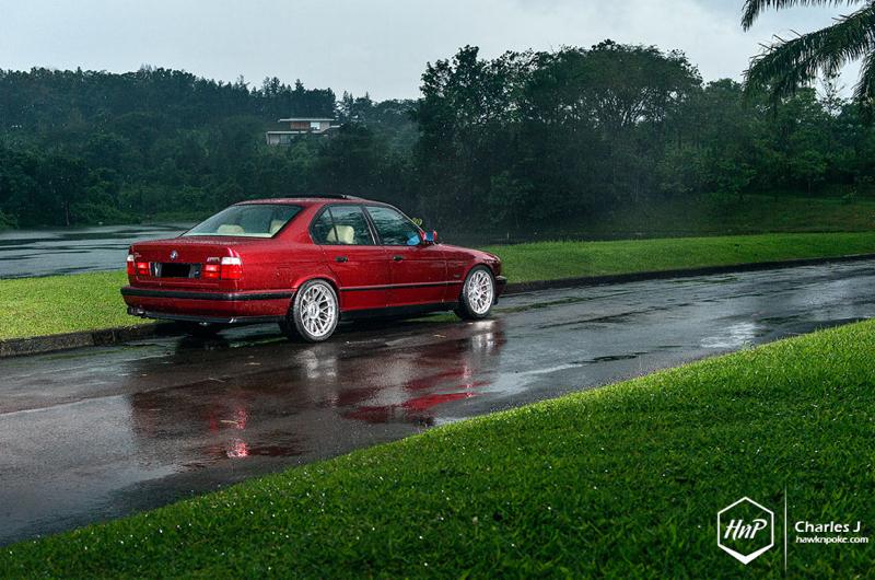 DLEDMV BMW M5 E34 BBS RC HnP06