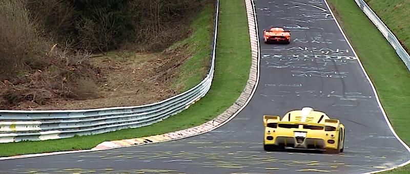 DLEDMV Edo MC12 XX Corsa vs Enzo FXX 10