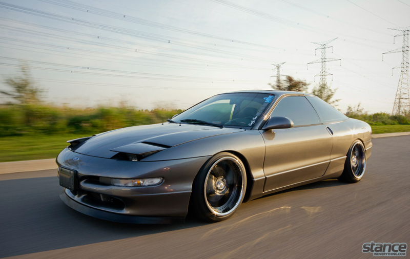 DLEDMV Ford probe V6 turbo Stance 11