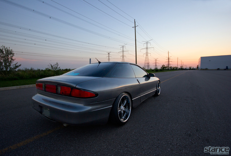 DLEDMV Ford probe V6 turbo Stance 16