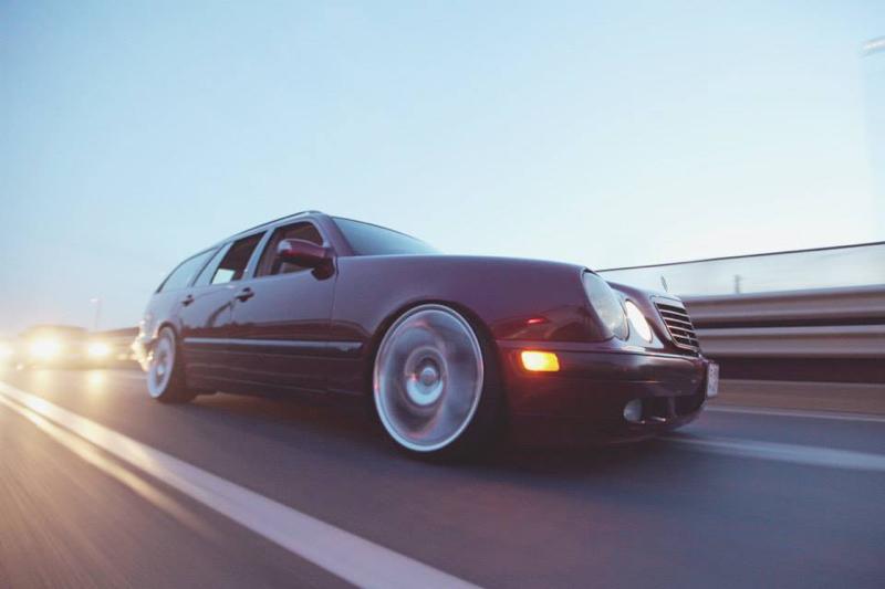 DLEDMV Mercedes S210 Bagged & Brabus 05