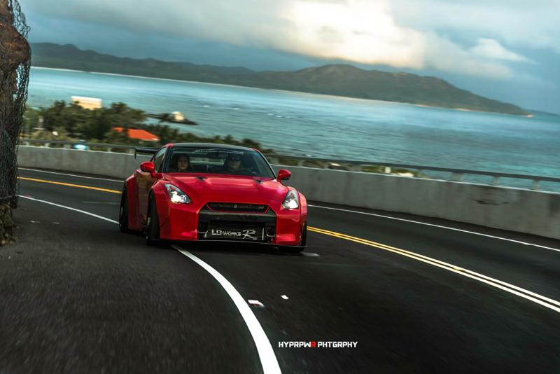 DLEDMV Nissan GTR LB Walk Hawai 08