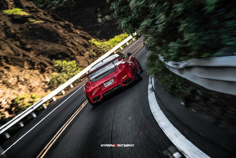DLEDMV Nissan GTR LB Walk Hawai 09