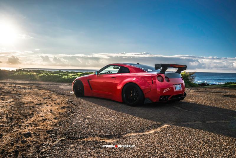 DLEDMV Nissan GTR LB Walk Hawai 11