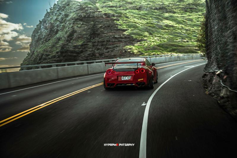 DLEDMV Nissan GTR LB Walk Hawai 12