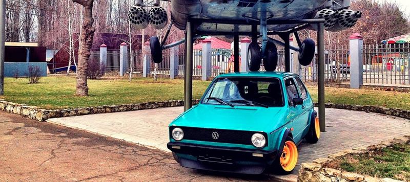 DLEDMV VW Golf 1 stancevagbleat' 11