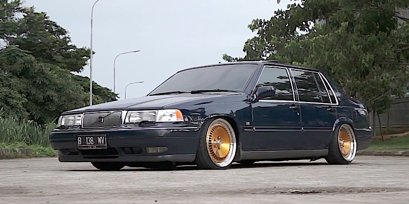 Volvo 960 Scandinavia Masterpiece - Stance Ikéa ! De l ...