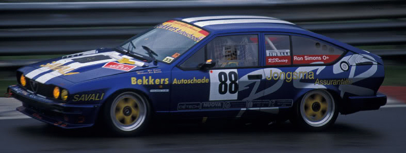 DLEDMV Alfa GTV6 racing engine sound 02