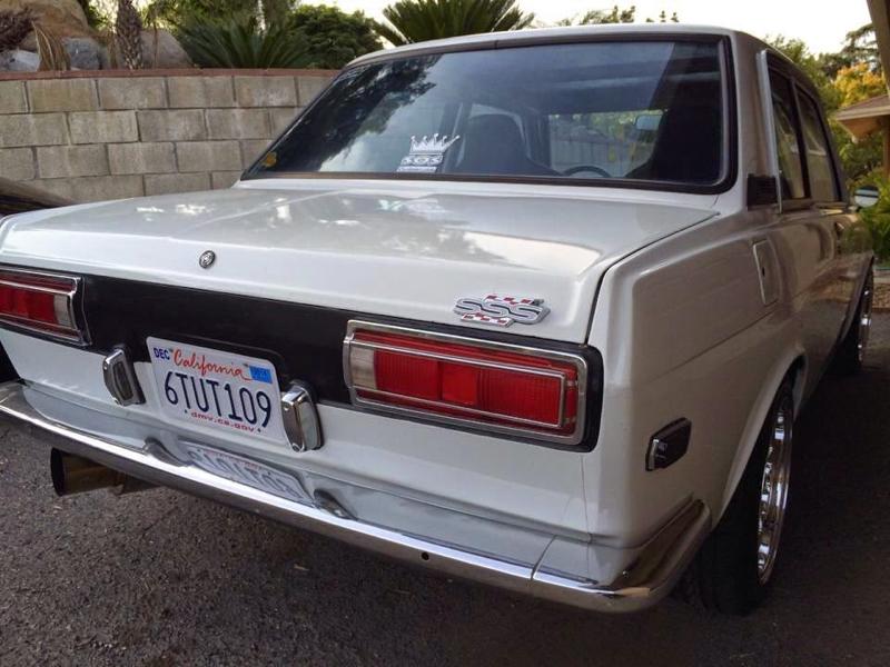 DLEDMV Datsun 510 restomod SR20DET 01