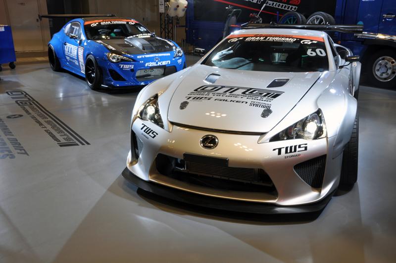 DLEDMV - Lexus LFA swap Toyota V8 Nascar03
