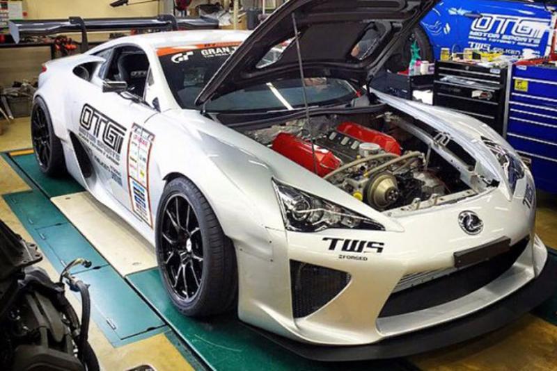 DLEDMV - Lexus LFA swap Toyota V8 Nascar05