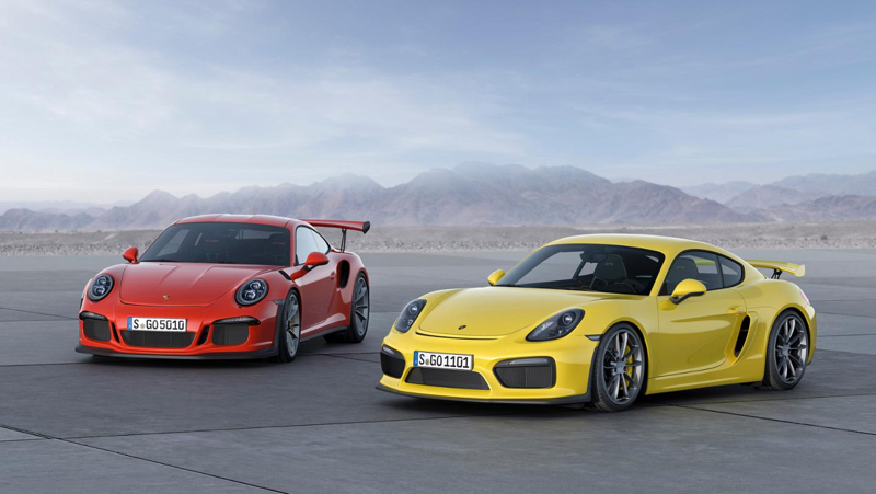 DLEDMV Porsche 991 GT3 RS & Cayman GT4 01