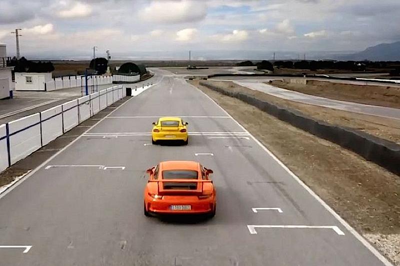 DLEDMV Porsche 991 GT3 RS & Cayman GT4 03