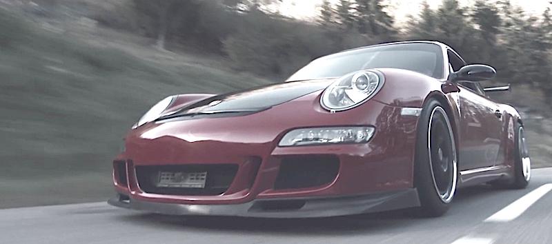 DLEDMV Porsche 997 GT3 the road passion 02