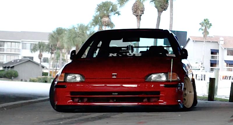 DLEDMV - Honda Civic EG Ferio Slammed - 02