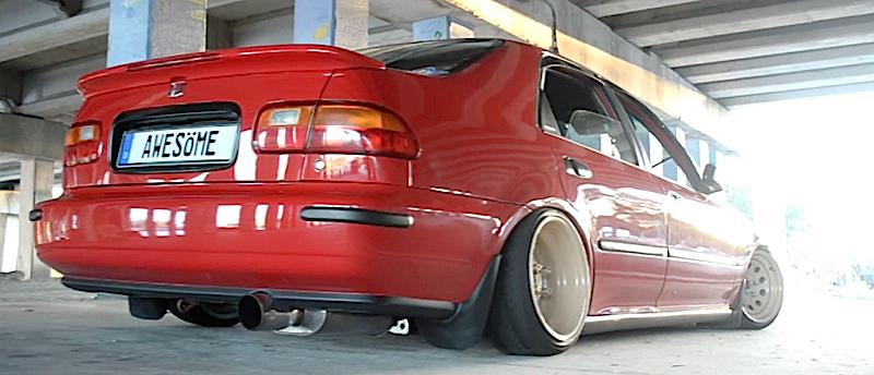 DLEDMV - Honda Civic EG Ferio Slammed - 03