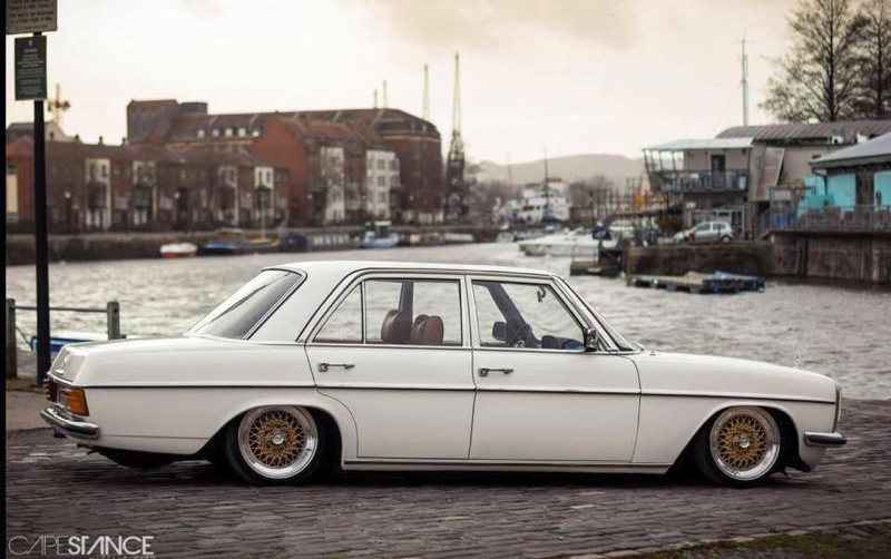 DLEDMV - Mercedes W115 Airbagged & BBS - 02