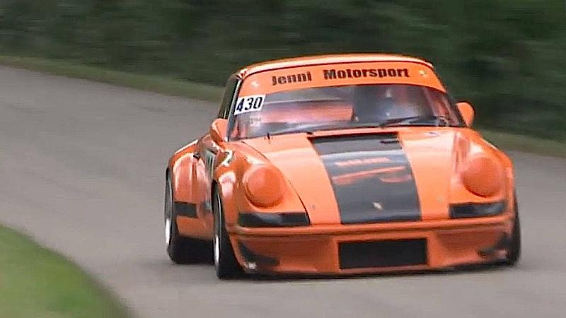 DLEDMV - Porsche 911 RSR Hillclimb Jenni Willi - 02